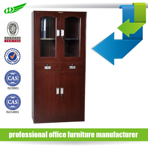 school furniture steel file cabinet with safe inside
