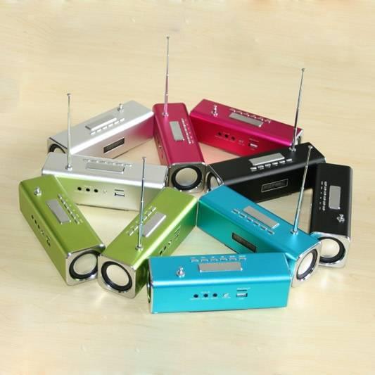 New Portable TT2 small speaker  For iPod/MP3