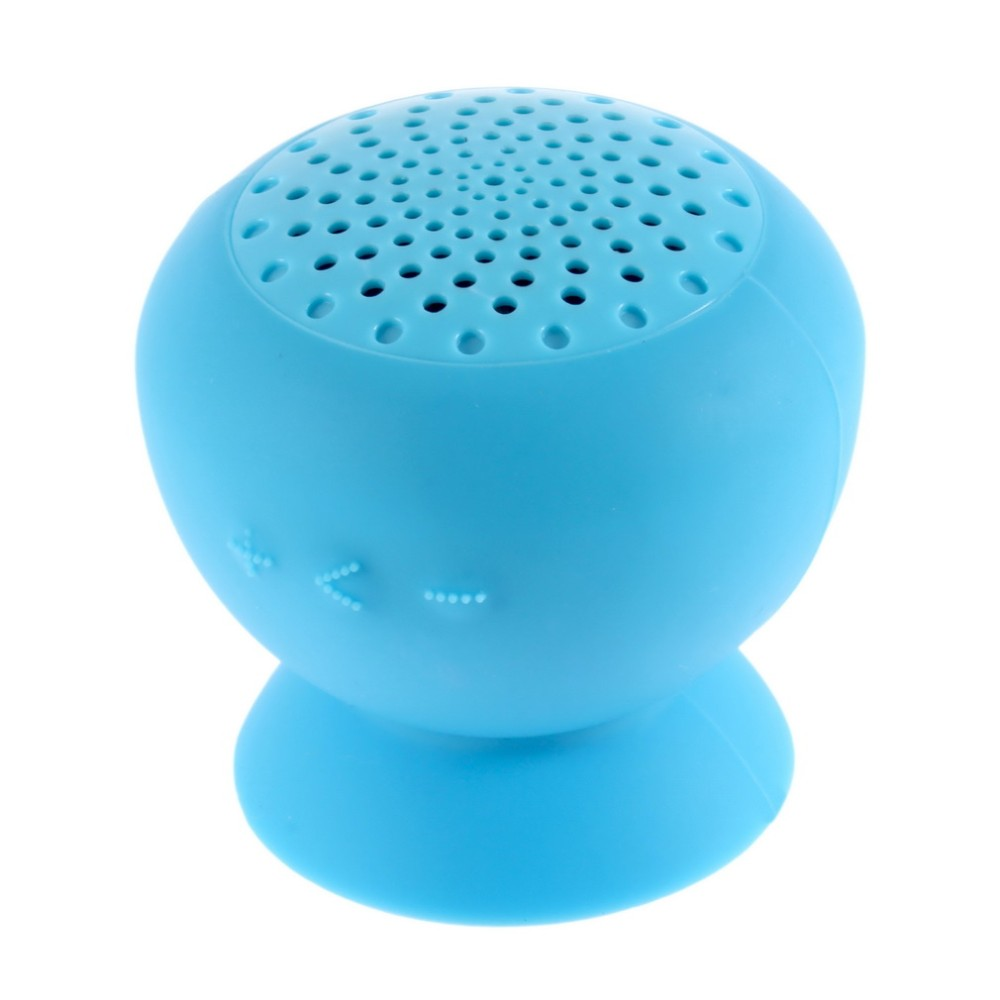 waterproof bluetooth wireless mobile speaker with suction
