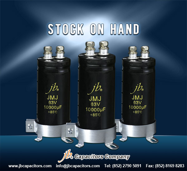 JMJ - 2000H at 85°C, Miniaturized, Screw Aluminum Electrolytic Capacitor