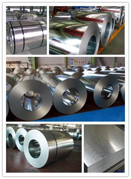 Iron sheet Galvanized sheet zinc coated plated steel coils in sheet