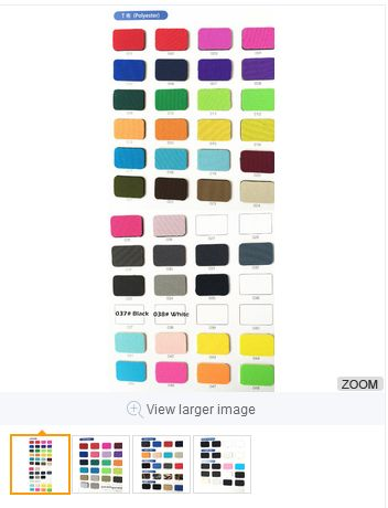 neoprene fabric textiles catalogue color swatch neoprene color list