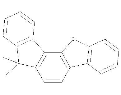 7,7-dimethyl-7H-fluoreno[4,3-b]benzofuran