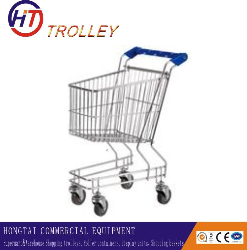 small size supermarket shopping cart with wheels for kids