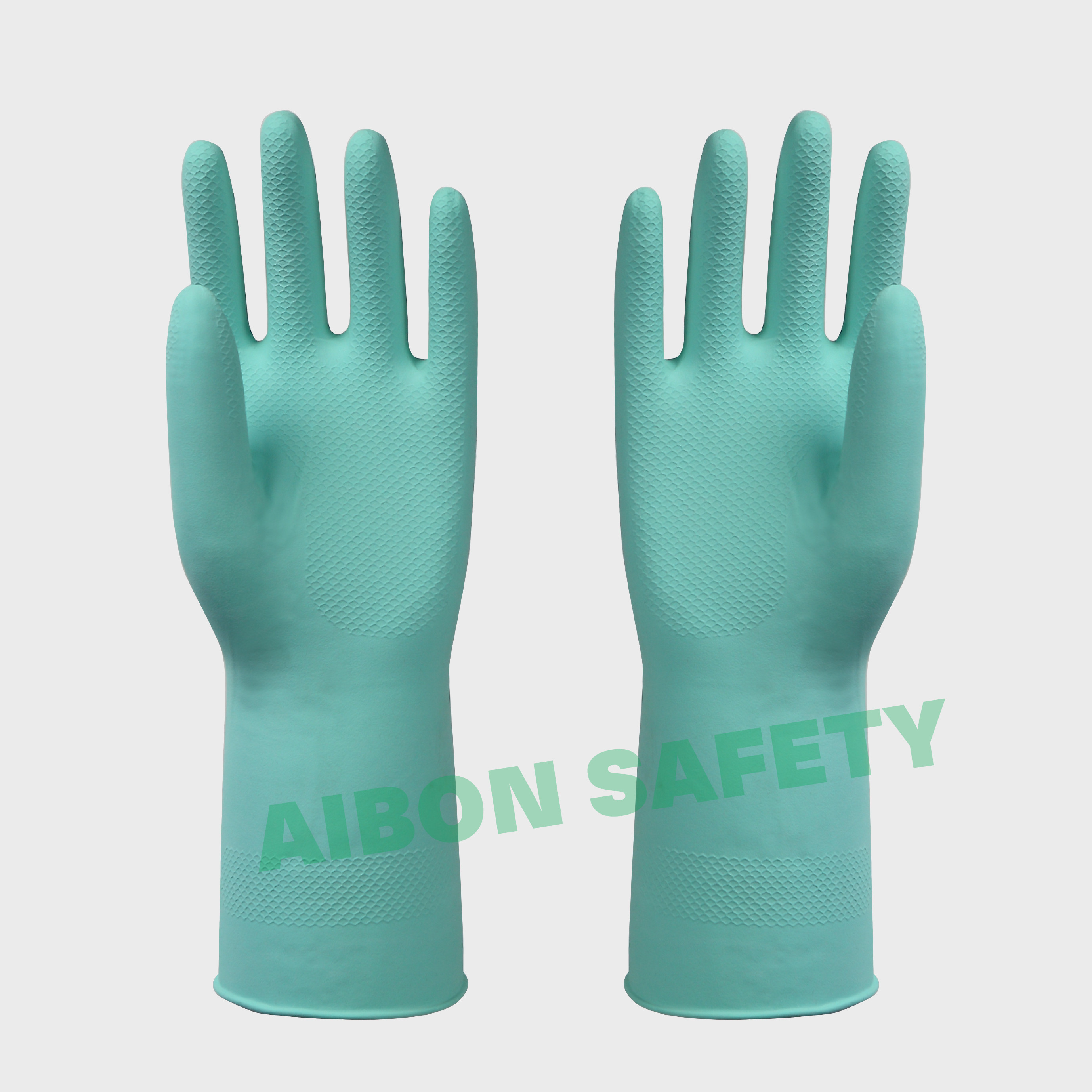 flocklined cotton household rubber glove