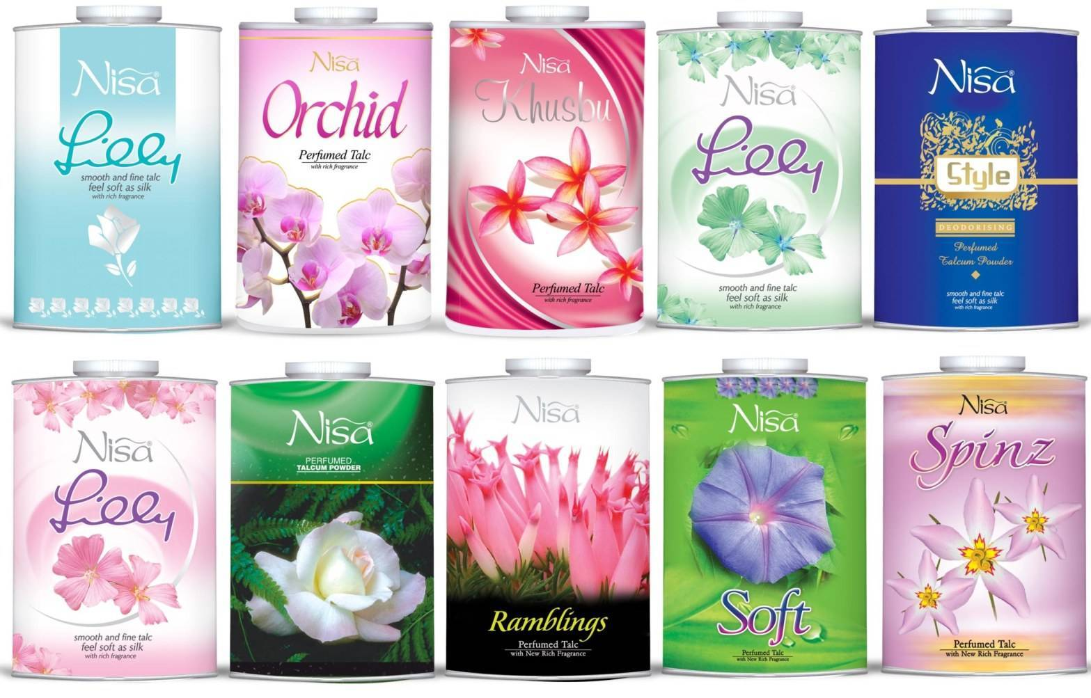 Perfumed Body Talcum Powder OEM
