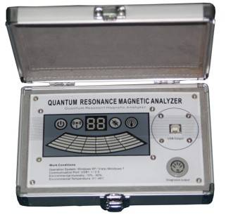 Romani quantum resonance magnetic analyzer