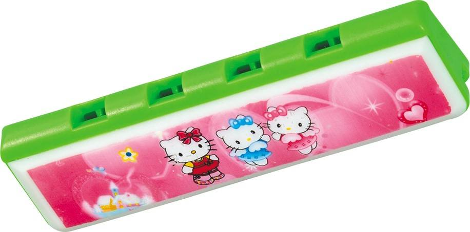 kids popular and plastic cartoon harmonica toy for sale