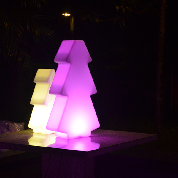 Outdoor Color Changing Christmas Tree Led Light With Remote