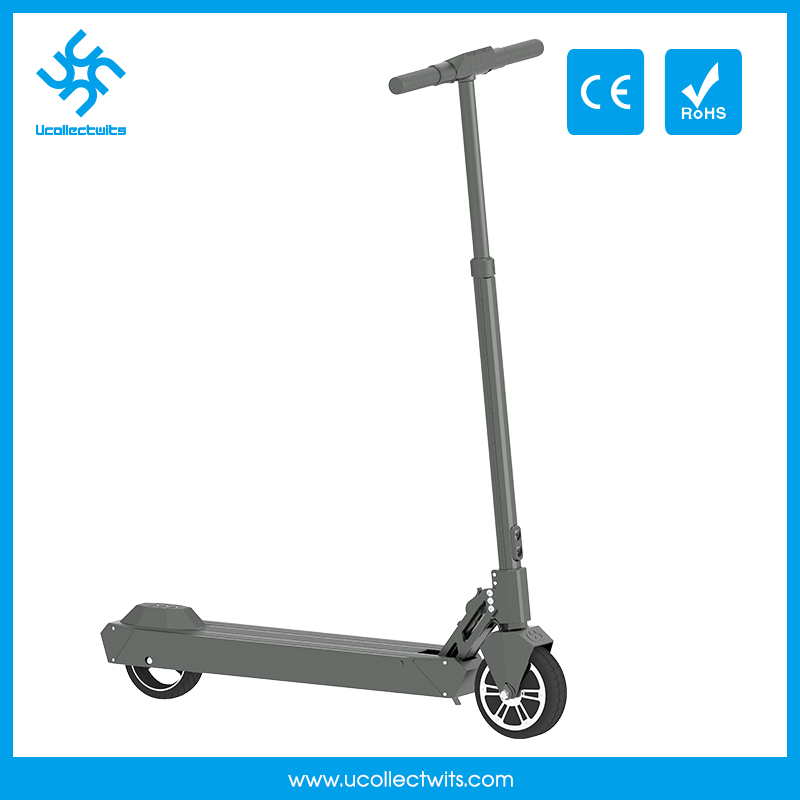 Ucollectwits U6e battery powered scooters silver electric adult scooter