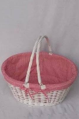 wicker egg basket