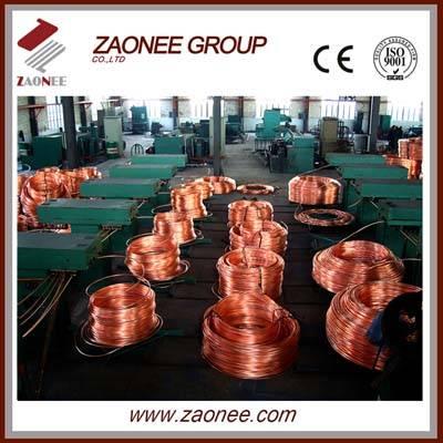 Copper rod upward continuous casting equipment