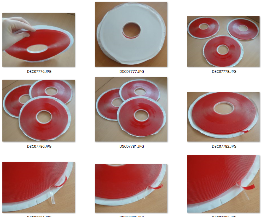 glass laminating tape adhesive tape sticky tape