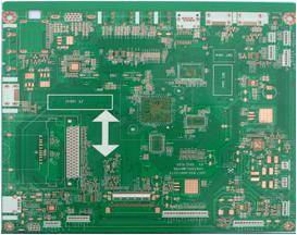 Finished 1oz 4 L Multilayer TV Board with OSP