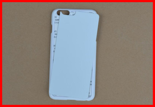 sublimation blanks 2D TPU phone case for Iphone 6 plus
