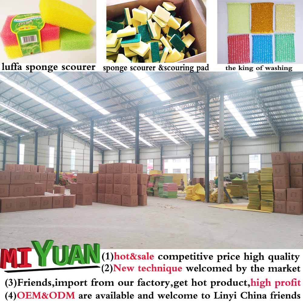 Cleaning Sponge Scouring Pad,Kitchen Sponge Scourer,Cleaning Sponge Scourer
