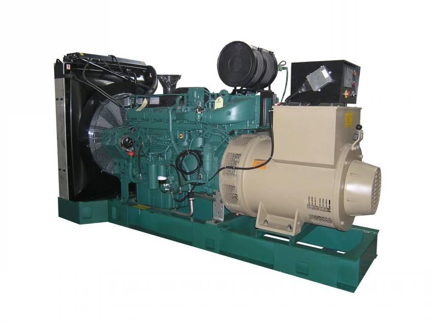 60HZ 440V VOLVO 500kw silent and portable diesel generator , equip Cummins engine assemble