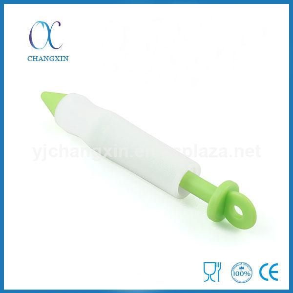 Wholesale Food Grade Silicone Cake Decorating Syringe Pen