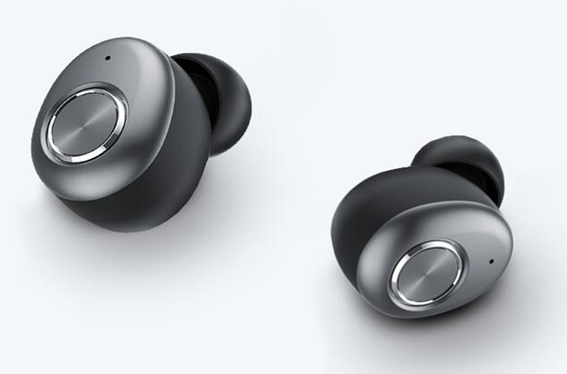 Wireless Bluetooth stereo opposite ear