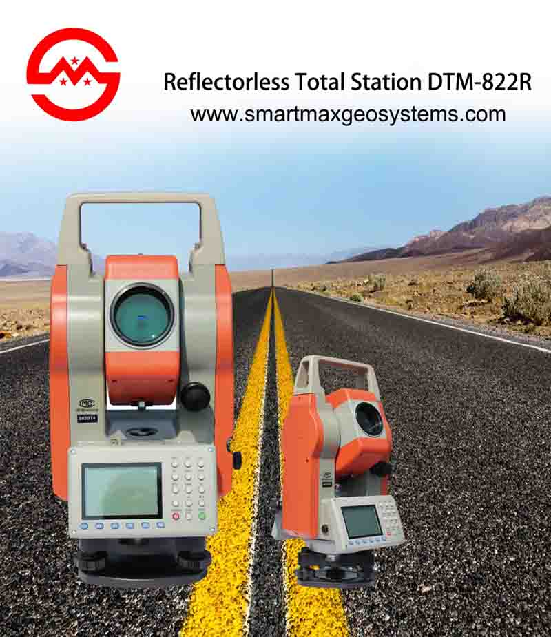 DTM-822R Reflector less Total Station