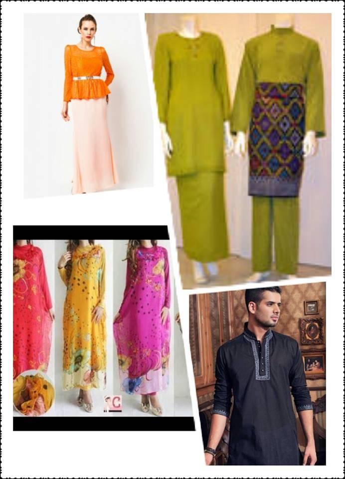 10$-15$/pcs Baju Kurung, Peplum, Jubah, Kaftan, Melayu