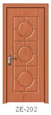 2015 Jiangshan pvc mdf design wooden door