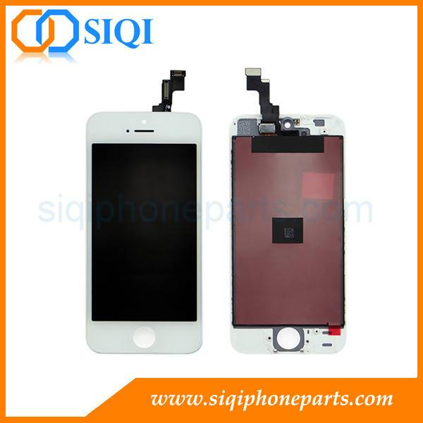 AAA Quality For iPhone 5S Screen Wholesaler From China (White)