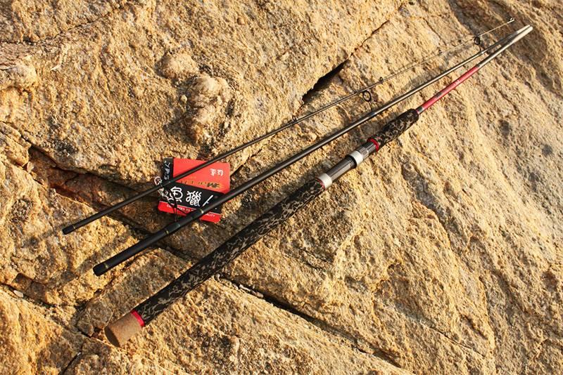 Wholesale high quality fishing rod LMS001-1003M 3.05m spinning bass fishing rod