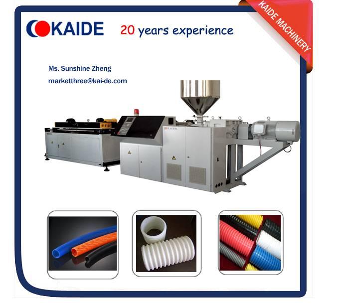 PE corrugated pipe making machine KAIDE