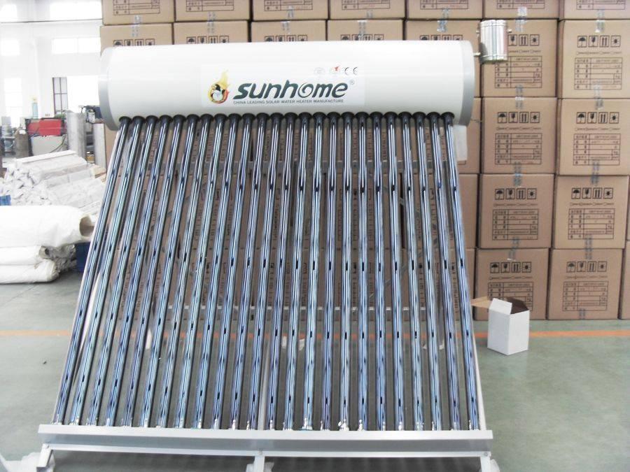 Nonpressure Solar Water Heater