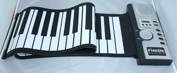 61 Keys Flexible Hand Roll Piano – It's a 61 Soft Keyboard Piano