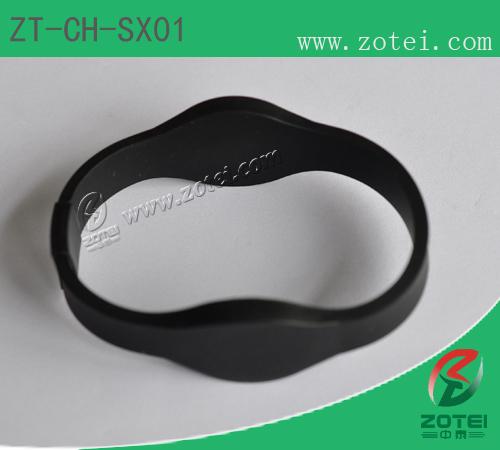 RFID silicone wristband tag(ZT-CH-SX01)
