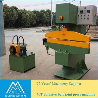 40T abrasive belt joint press machine wide belt pasting machine