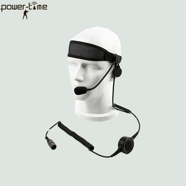 Military IP67 waterproof single ear headset PTE-M10