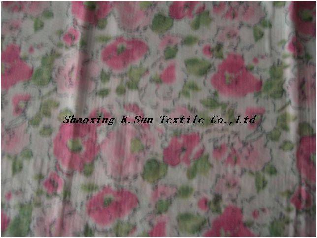 chiffon sequins embroidered fabric