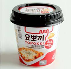 Cheese Yopokki Cup
