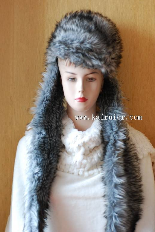 winter fur hat for christmas xmas gift