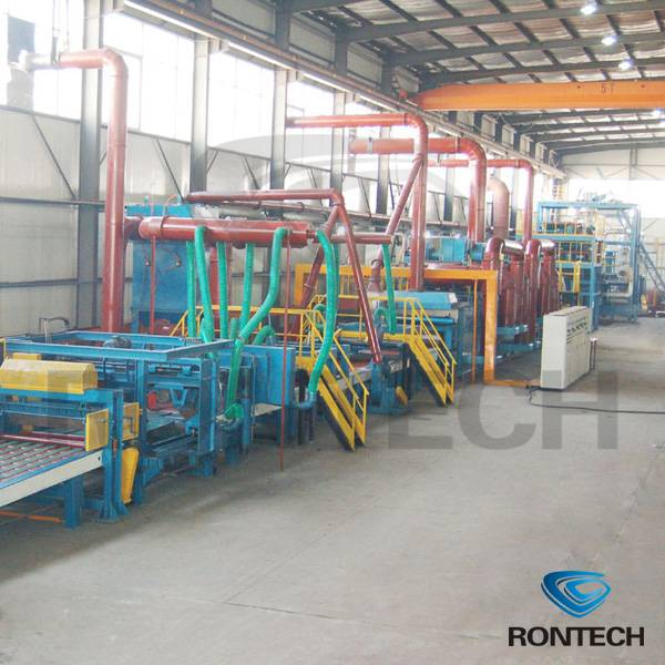 Rock wool prouduction line