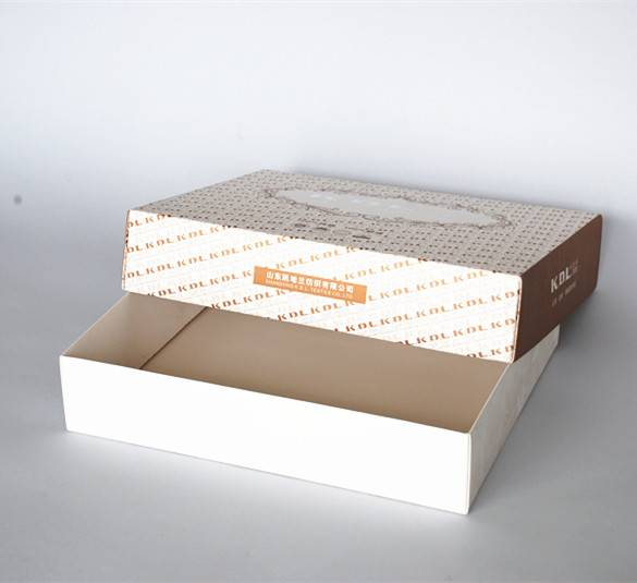 300gsm white card paper material made paper packing box