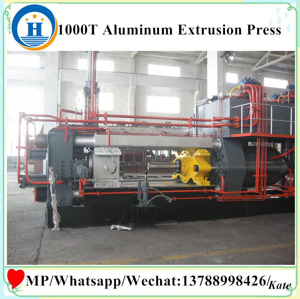 plant extrusion aluminum profile processing machinery