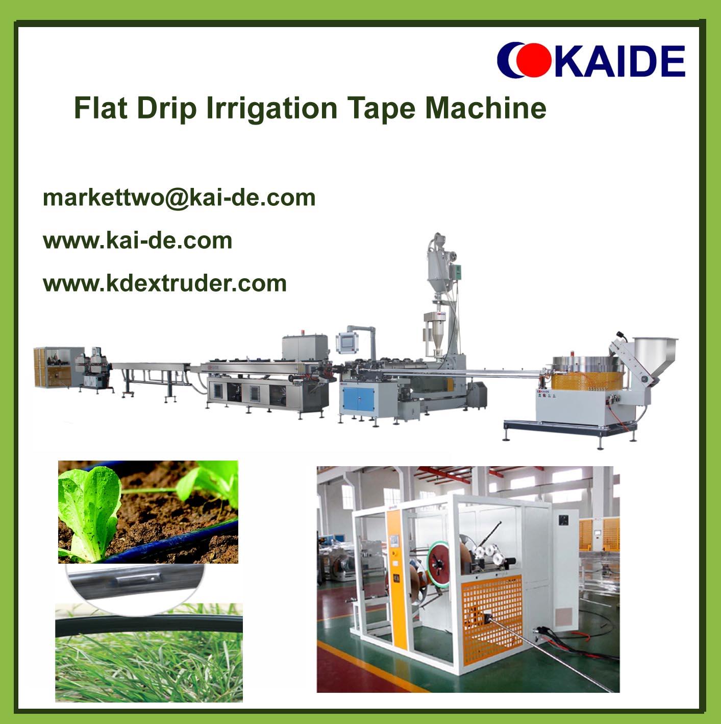Flat Drip irrigation tape machine (whatsapp 86-13705369780)