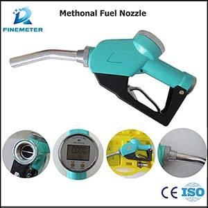 Chemical liquid dispenser fuel nozzle anti-corrosion measuring refueling nozzle