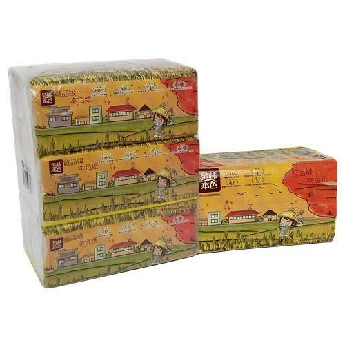 Tranlin Natural 120 pieces Soft Pumping Tissue
