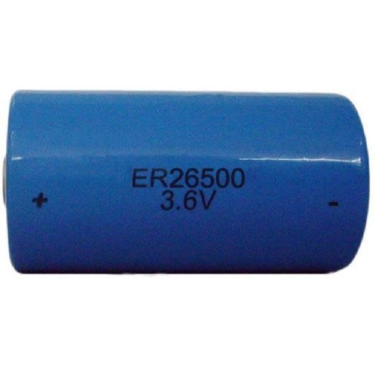 ER26500 8500mAh 3.6V C size LiSOCL2 battery for medical instruments