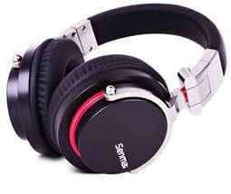 Professional stereo DJ headphone,turnable and foldable,superb bass