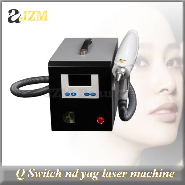 LS40 Q switch nd yag laser machine for spot removal, tattoo removal