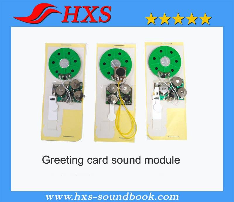 Christmas Music Greeting Card Sound Chip
