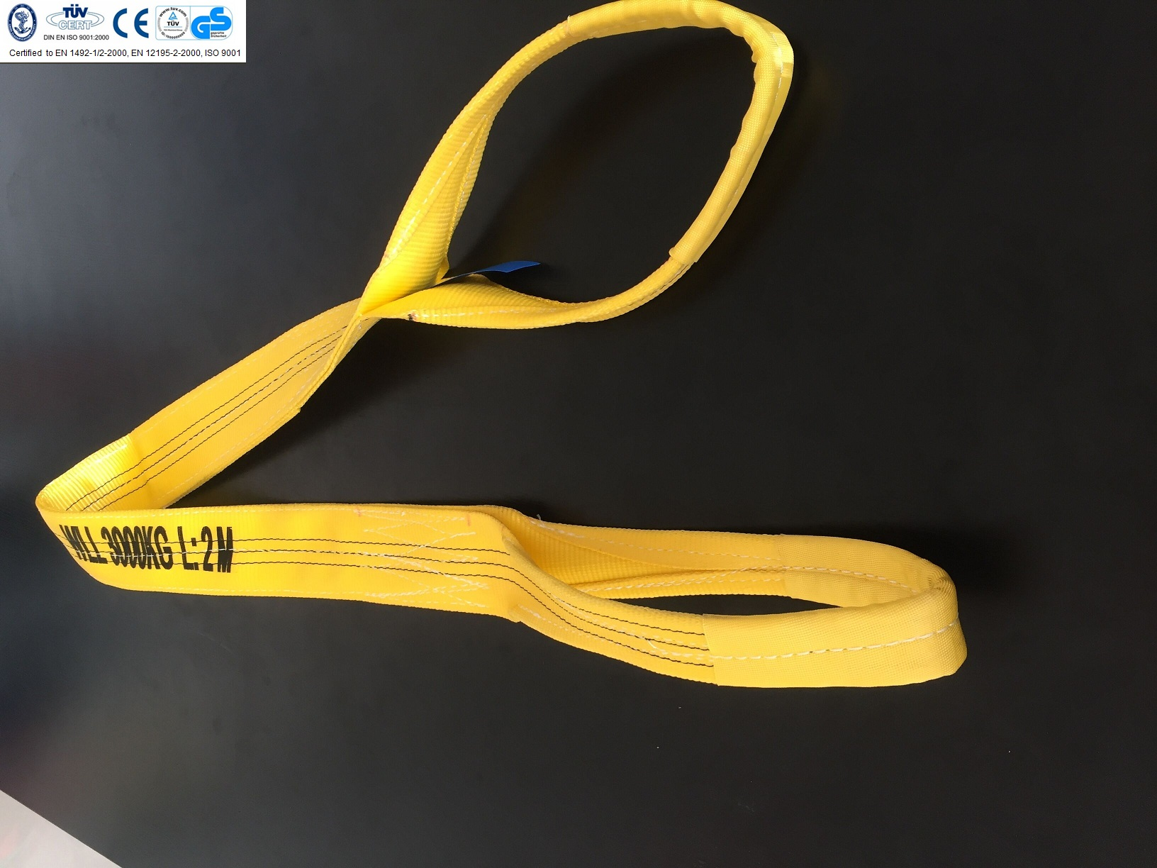 WEBBING SLING WITH EYE 3T
