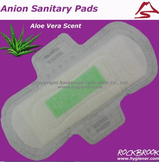 Ladies anion sanitary pads in Guangzhou