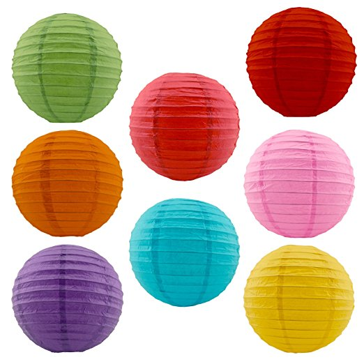 Party Decoration Good Quality Paper Lantern in differents Sizes and Colors